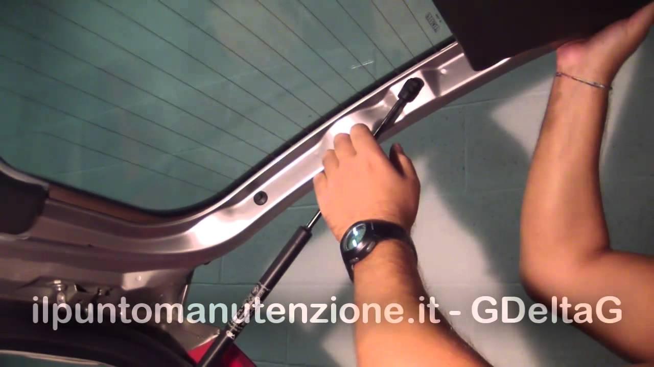Cambio Pistone Portellone Baule Fiat Punto Mk2 Youtube