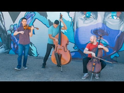 Simply Three - Chained to the Rhythm by Katy Perry (violin/cello/bass cover)