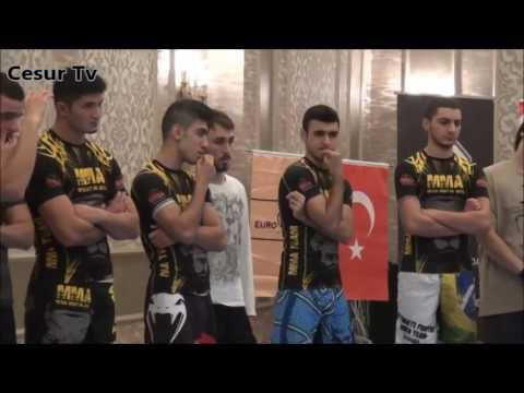 TÜRKİYE MMA FEDERASYONU MMA İSTANBUL SEMİNERİ 2016