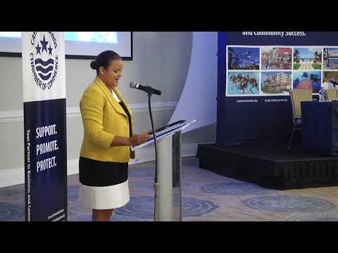 Cayman Islands Financial Services Minister Tara Rivers April 18th 2018