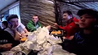 50 Hamburger challenge Mc Donald's