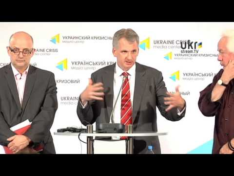 "Briefing Dedicated to the Start of the Conference ""Ukraine: Thinking Together"""