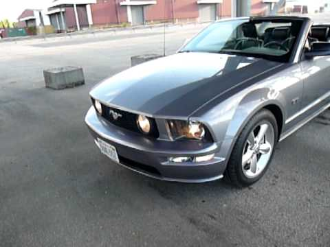ford mustang gt cabriolet 2006 vendre youtube. Black Bedroom Furniture Sets. Home Design Ideas