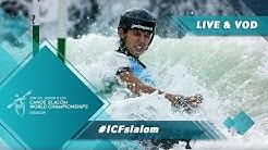 2019 ICF Canoe Slalom Junior & U23 World Championships Krakow Poland / Jnr Final - C1w, K1m