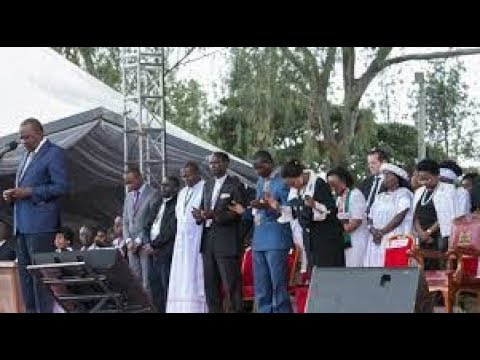 Why Kenyans are discussing President Uhuru Kenyatta's prayer