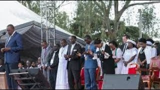 Why Kenyans are discussing President Uhuru Kenyatta's prayer