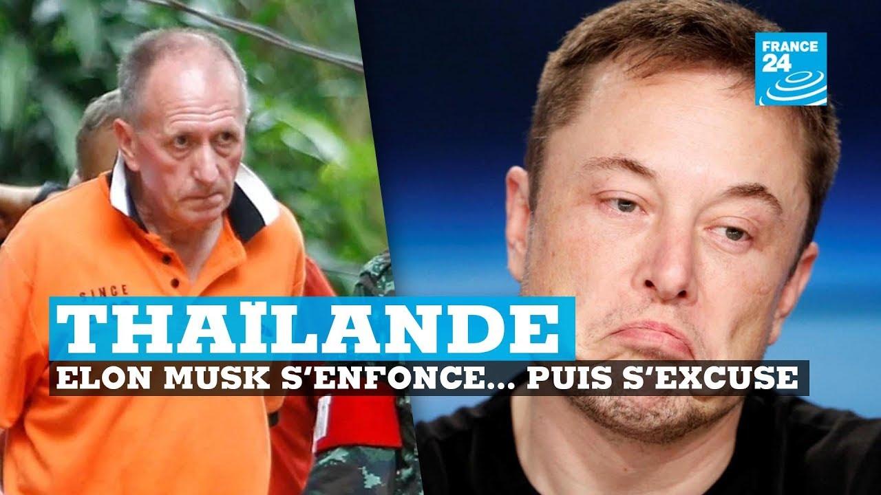 Grotte en Thaïlande : Elon Musk s'enfonce... puis s'excuse