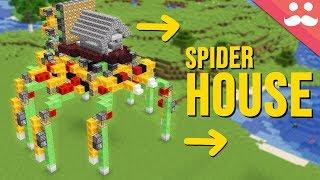 Walking Spider House with Honey Blocks