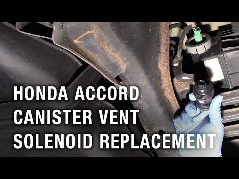 Honda Accord Canister Vent Solenoid Replacement