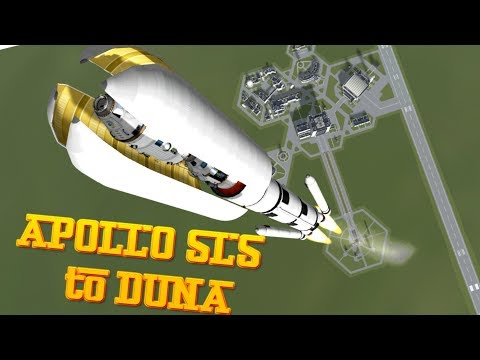 Duna Mission with SLS Apollo style - Kerbal Space Program