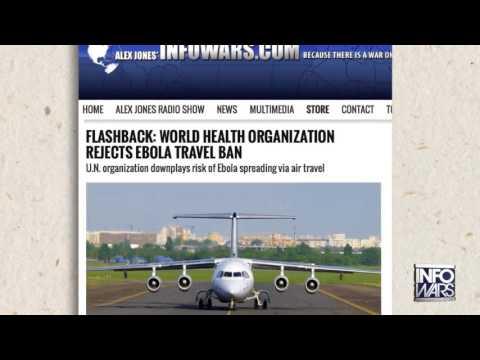 Perry Deflects – Will Obama Halt Ebola Flights – Infowars News 10/1