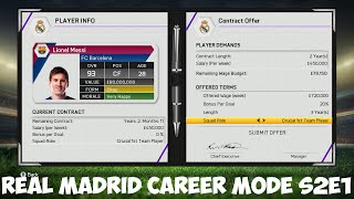 Fifa 15 real madrid career mode - a very messi pre-season - s2e1