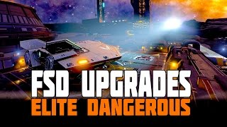 Elite Dangerous - The Engineers - FSD Upgrades [Wake Echoes, Arsenic, Chemical Processors]