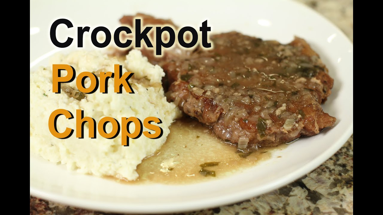 Crockpot Pork Chops  So Tender In A Slow Cooker By Rockin Robin