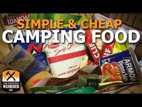 Simple And Cheap Camping Food
