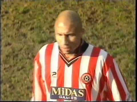 149a0ce109e 2001-02 Sheffield United v West Bromwich Albion, worst tackle ever ...