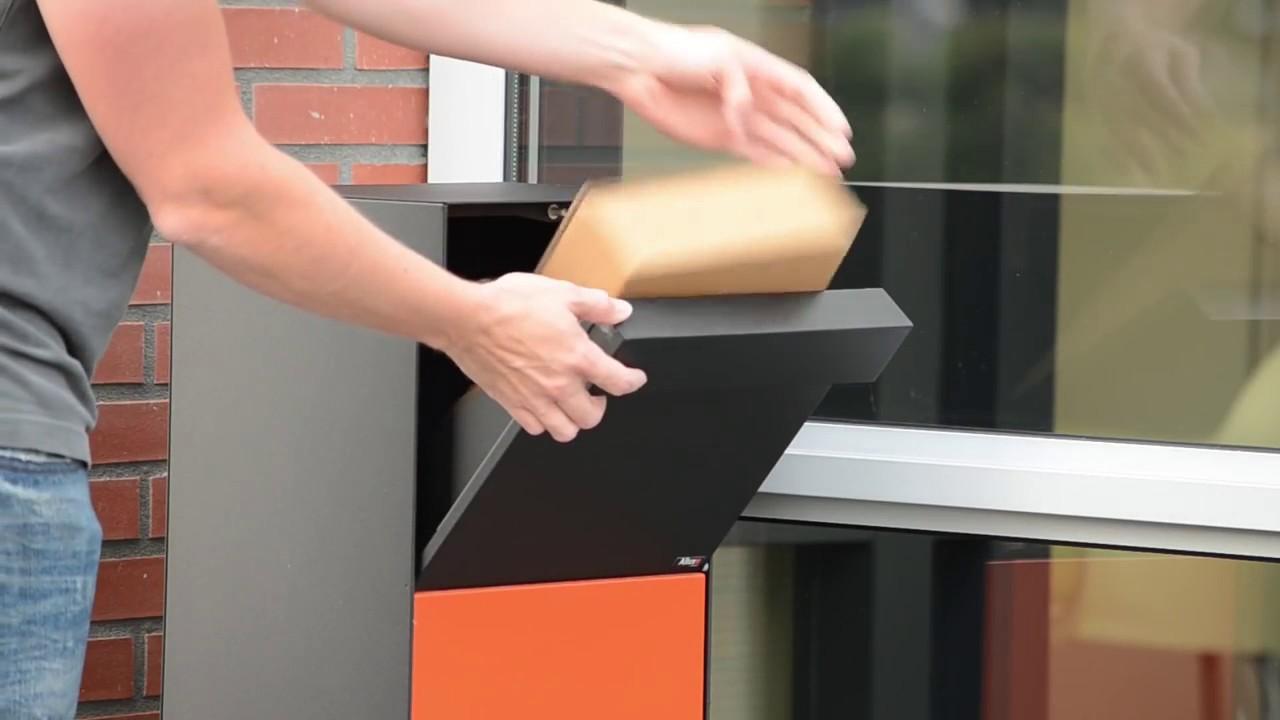 Oprindeligt Allux Grundform Pakket brievenbus - Brievenbusdirect.nl - YouTube PI41