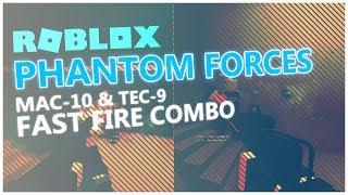 ROBLOX - MAC-10 e TEC-9 FAST FIRE COMBO! - Modifica delle forze fantasma