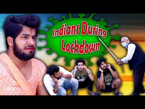 Indians During Lockdown | Different  Types Of People During Lockdown | Yogesh Kathuria