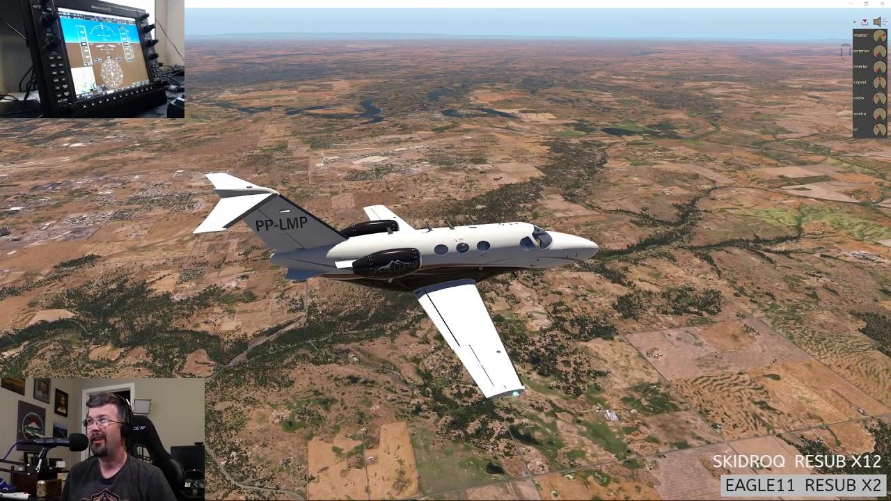 ORBX TrueEarth Washington - New Citation Mustang by RWDesigns
