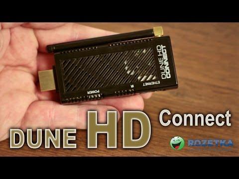 Обзор медиаплеера Dune HD Connect
