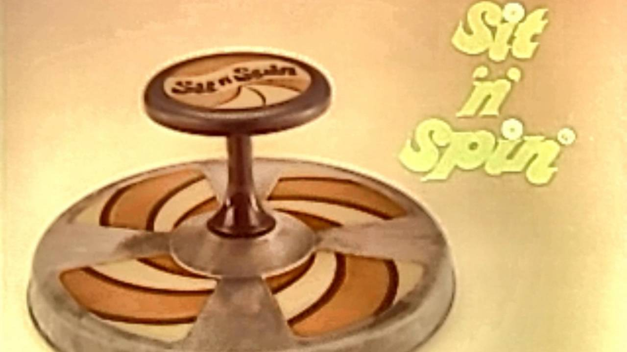 Sit And sit n spin commercial from 1977