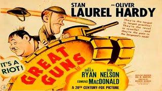 حصرياً سلسلة أفلام لوريل وهاردي (المدافع العظيمة) إنتاج 1941