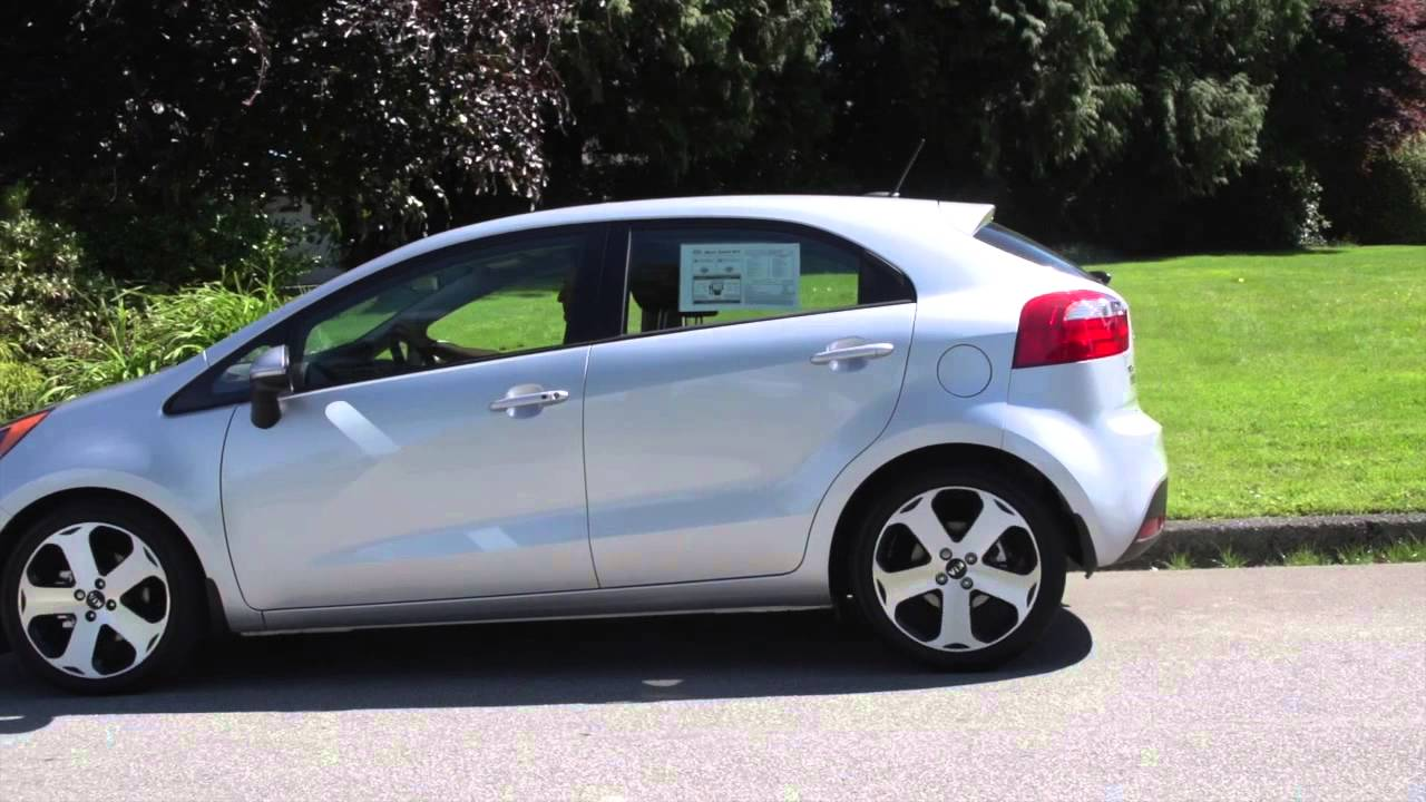 2014 kia rio review greater vancouver kia dealer youtube. Black Bedroom Furniture Sets. Home Design Ideas