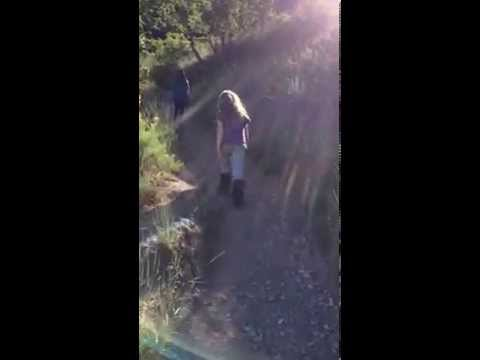 Hiking to the G in Pleasant Grove Utah