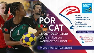 IKF U21 EKC 2019 POR - CAT
