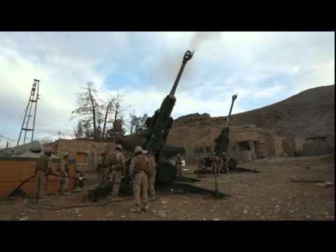 Marine Artillery Fire Mission in Kajaki, Afghanistan