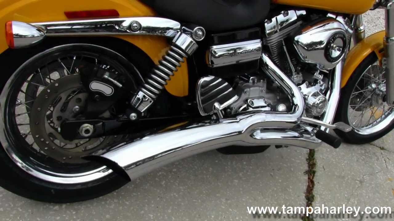 2008 Harley-Davidson FXDC Dyna Super Glide with Vance & Hines ...