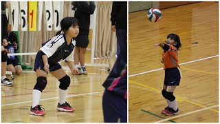 Riona is Only 7 Years Old and She Has Amazing Volleyball Skills | She is the Future of Volleyball !
