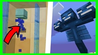 THIS SUBSCRIBER CREATED A GIANT WITHER ! TOP 5 MINECRAFT