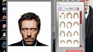 Como Cambiar tu peinado con este programa