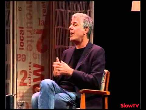 Medium raw. Anthony Bourdain in conversation