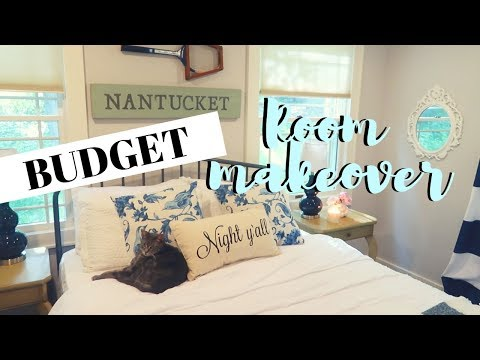 BUDGET GUEST ROOM IDEAS | Inexpensive Guest Room Ideas 2019