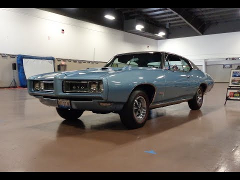 Original Owner with 1968 Pontiac GTO in Blue & Engine Sound on My Car Story with Lou Costabile