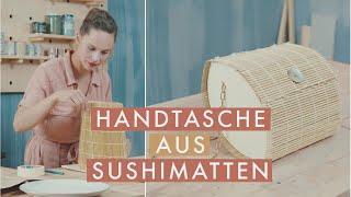 Handtasche aus Sushimatten DIY | Upcycling | Zero Waste | Jelena