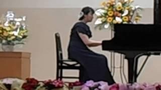 ピアノ発表会 カプリス より メンデルスゾーン         カラオケジョイクラブ鴨宮