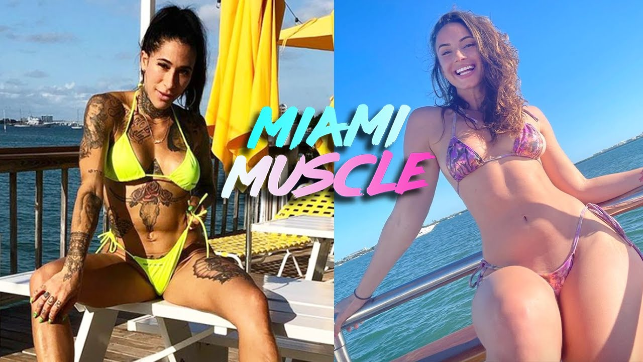 The Twerk Queen Works-Out With 'The Queen Of SnapChat' | MIAMI MUSCLE