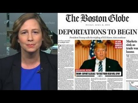The Boston Globe defends its anti-Trump mock front page