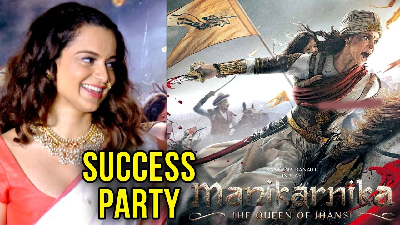 Kangana Ranaut Celebrates  Manikarnika GRAND Success Party With Media
