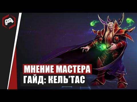 видео: МНЕНИЕ МАСТЕРА: «cryger» (Гайд - Кель'Тас) | heroes of the storm