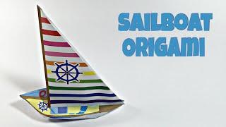 SAILBOAT TUTORIAL | EASY SHIP ORIGAMI