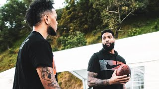 Day In The Life of a College Athlete (w/ ODELL BECKHAM)
