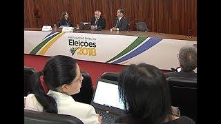 O evento é realizado na sede do Tribunal Superior Eleitoral, em Brasília. Juízes de todo o país recebem capacitação para as Eleições 2018. Encontre-nos nas ...
