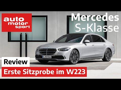 Die Neue Mercedes S-Klasse (2020): Mehr Luxus Geht Nicht? - Sitzprobe/Review  auto Motor Und Sport