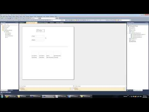 Visual C# with Microsoft Access Database Tutorial   Part 11 Printing