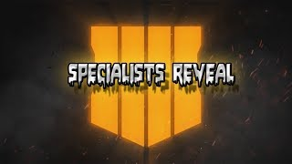 Call of Duty Black Ops 4 Multiplayer Specialists Trailer!!!!